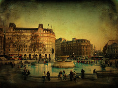 Tragalgar Square > London