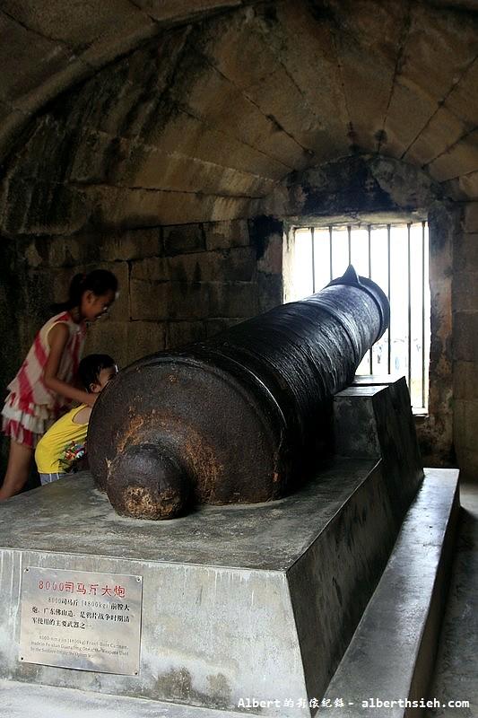 虎門威遠砲台-8000司馬斤大炮