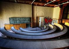 Urbex School (Batram) Tags: school abandoned stairs decay treppe staircase villa palast schule verlassen urbex lsk dolny opuszczony