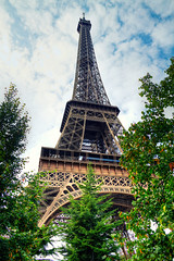 Eiffel Tower (Radu Micu) Tags: city paris france tower architecture wonder steel eiffel hdr