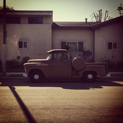 Brown Pickup Truck in Mar Vista, CA (ChrisGoldNY) Tags: california street usa brown america losangeles forsale retro socal squareformat posters albumcover trucks bookcover southerncalifornia vignetting bookcovers pickuptrucks albumcovers licensing iphone marvista laist losangelescounty challengewinner challengewinners thechallengefactory instagram chrisgoldny chrisgoldberg chrisgold chrisgoldphoto chrisgoldphotos