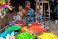 Muluggu /Rangoli (Diwali 2013) - 136 (Rajesh_India) Tags: india colours designs colourful tradition hyderabad diwali 2013 ameerpet muggulu mugguludesigns