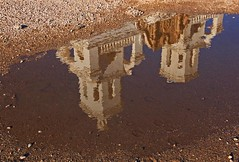 Reflection of  the Mission San Xavier (Mysophie08) Tags: arizona rebel tucson unitedstatesofamerica infocus sanxaviermission highquality twothumbsup bigmomma gamewinner reflectionswater 15challengeswinner friendlychallenges thechallengefactory fotocompetition fotocompetitionbronze fotocompetitionsilver yourockwinner herowinner storybookwinner gamesweepwinner storybookttwwinner gamex3sweepwinner