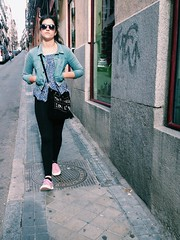 My Girl in Madrid (Lou Morgan) Tags: madrid street girl sunglasses cool spain europe attitude teen confident teenage gifm