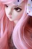 Hanging with Marly. (Mrsbeccabear) Tags: pink ball asian doll sd bjd cp fairyland abjd 60 marly miyu f60 jointed feeple