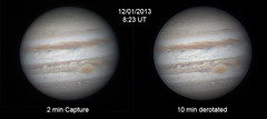 Jupiter - 12/1/13 (zAmb0ni) Tags: red sky night giant spot gas astrophotography planet astronomy jupiter gread