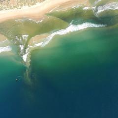 l o n g s h o r e ~ d r i f t (gil walker) Tags: teal aerial shore longshoredrift plettenbergbay keurboomsrivermouth