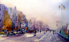 Brighton Promenade (BILBOV.(Lorus Maver)) Tags: light landscape cityscape watercolour luminosity lorusmaver