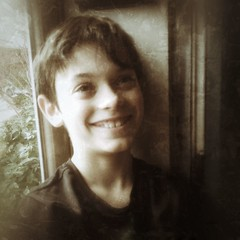 shaggy (woodleywonderworks) Tags: door school boy portrait test smiling vintage happy education good grades 365 adjusted img4504 365project