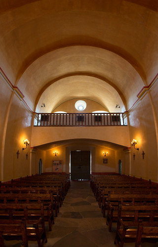 Inside Mission Concepción