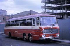 DCU84D (21c101) Tags: nottingham 1969 bedford 1966 barton express 1127 duple val14 duplevegamajor mountstreetbusstation dcu84d