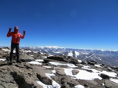 The summit of Veladero (6420m)