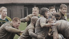 Oldershaw Rugby Club v's Linley (sab89) Tags: playing club bath cheshire mud rugby fields stoke league wallasey wirral linley belvidere oldershaw