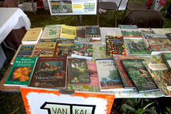 "Van-Kal Permaculture Booth at Harvest Fest <a style=""margin-left:10px; font-size:0.8em;"" href=""http://www.flickr.com/photos/91915217@N00/12450040805/"" target=""_blank"">@flickr</a>"