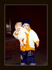 Throwback Thursday (Renee Rendler-Kaplan) Tags: november chicago fall girl lucy gbrearview little small daughter lakeshoredrive 1980 byme cuffs gapersblock wbez chicagoillinois chicagoist twoandahalf belmontharbor november1980 throwbackthursday reneerendlerkaplan lucyrendlerkaplan withherbaby andadiaperoverhershoulderincasethebabyspitsup handcrochetedlettermanssweater handembroideredoveralls againbyme frillyhoodedsweatshirt yesdonebyme oversizedclothingtogrowinto eyelethoodie