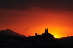 batman mask II (Ruby Ferreira ®) Tags: sunset hills pôrdosol riodejaneirorj silhuetassilhouettes brasilemimagens churchsilhouettes igrejadapenharj