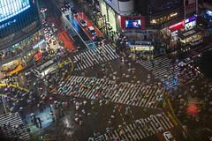 Rain in Shibuya (Sandro Bisaro) Tags: city nightphotography urban rain japan skyline architecture night skyscraper umbrella canon japanese lights tokyo lowlight asia neon cityscape crossing nightscape shibuya aerialview 日本 nippon 東京 渋谷 metropolitan nihon shibuyacrossing tokio 渋谷区 canon5dmarkiii canon7020028iiusm sandrobisaro