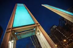 Boston Blue Blades (dovetaildw) Tags: light rose boston nikon massachusetts kennedy blades textured greenway bostonist d7000