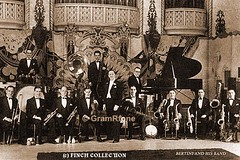Bertini Band. Horace Finch at piano (gramrfone) Tags: cinema theatre organists