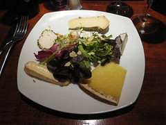 Cheese (Niecieden) Tags: paris france cheese restaurant may meal 2010 lacanaille canondigitalixus90is