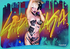 Blend - Born This ARTFame  (Lucas de Andrade) Tags: colors lady way this born fame edit gaga blend btw artpop