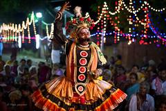 Theru koothu (Raja pandian.) Tags: show street india colour night dance costume play dress theatre bokeh culture makeup story drama chennai epic tamil raja kanchi ethinic ramayan mahabharat pandian koothu enternainment theru walajabad