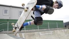 Backside Air at Guildford (georgemason02) Tags: skatepark skate guildford grab melon backsideair guildfordskatepark bowlskater lategrab