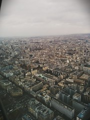 Paris from above (soulfulpoignant) Tags: sky paris france cold beautiful skyline architecture french high view eiffeltower eiffel latoureiffel february froid parisian francais fevrier scenicview