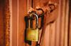 Hardened (Walimai.photo) Tags: door red españa orange yellow spain rojo puerta nikon rust lock el amarillo chico salamanca naranja 18105 candado óxido d7000 sahelices