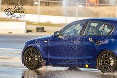 Drift sul bagnato (Paolo Moncalero) Tags: auto bmw tele pista drift motori serie1 castellettodibranduzzo