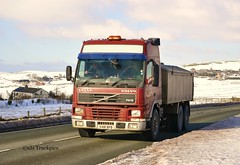 Volvo FM,Unknown Haulier (X481 BPB) (SJS Truck & Transport Photography.) Tags: volvo transport vehicles trucks logistics commercials lorries tippers haulage rigids