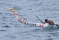 Wagawaga paddler (Sven Rudolf Jan) Tags: traditional canoe papuanewguinea alotau canoeandkundufestival