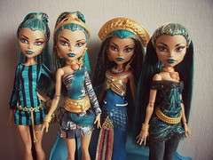 My Army of Nefera de Nile (MyMonsterHighWorld) Tags: 3 monster de high doll princess signature wave nile egyptian mattel basic nefera
