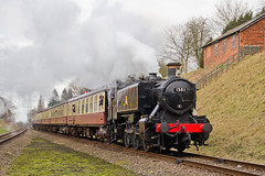 IMG_7103 (Kev Gregory) Tags: from winter last day with 1st no leicester great north central railway here class steam severn valley service february gregory visiting kev seen gala 1500 loughborough approaches gwr rothley 2015 gcr 1501 1245 gcrs 2a21