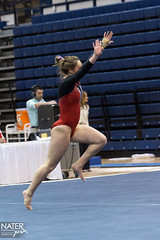 NCAA Womens Gymnastics - Penn State Quad Meet (nraupach) Tags: ladies college women state womens gymnastics cornell statecollege ncaa bigred 2015 rechall floorexercise
