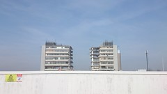 In Progress Demolition of High Rise Flats (grey_goshawk) Tags: out construction apartments demolition flats highrise keep
