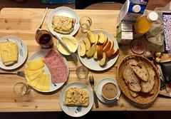 Continental breakfast, vandaag