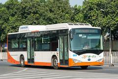 纯电动之梦/Build Your Dream...of Electric Bus (KAMEERU) Tags: guangzhou bus public electric transportation byd k9a ck6120lgev2