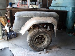 Dad's Short-Tall Truck Fender Flares (thorssoli) Tags: chevrolet truck pickup coe cabover caboverengine shorttalltruck