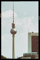 (Delay Tactics) Tags: sky berlin tower architecture clouds tv centre tourist international fernsehturm trade rule attraction thirds internationales handelszentrum