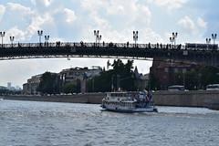 (dinapunk) Tags: bridge river boat russia moscow kremlin