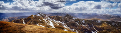 In The High Places (TheWildFireOne) Tags: sky snow mountains clouds scotland spring highlands perthshire tay loch nan munro meall tarmachan 500px