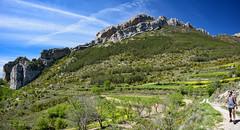 Inside the Abella de la Conca/Boixols anticline (tmcull) Tags: sky mountain mountains rock de landscape outdoors la spain explorer hill wanderlust explore spanish geology pyrenees conca abella explor boixols