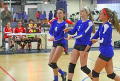 IMG_1095 (SJH Foto) Tags: school girls club high team teenagers teens volleyball cheer huddle tweens