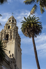 Tower and Palm: San Diego Museum of Man [Explored] (Photos By Clark) Tags: california unitedstates sandiego cities places location where northamerica balboapark locale canon2470 canon60d
