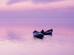 Barcas (Japo Garca) Tags: valencia lago atardecer mar agua barcas pescador reflejos fotografa albufera pescar garca serenidad japo