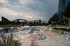 Skatepark (Fabian W) Tags: skyline canon frankfurt skatepark mainhatten ecb ezb osthafen 7dmkii