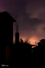 Magic wand..... (my 1st capture of Lightning) (ChanraKana) Tags: sky nature nikon nightsky lightning bangladesh 70300mmf4556 barguna d5200 70300mm4556