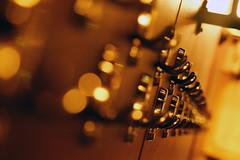Hang up your coat (Wim van Bezouw) Tags: metal steel object copper hooks