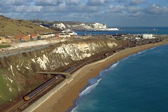 CEPs on the Edge of England (DeanM66A) Tags: electric dc south east multiple emu network whitecliffs dover englishchannel unit nse lamanche thirdrail 1583 4cep class411